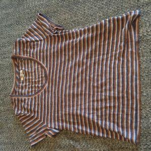 NWOT Madewell whisper striped tee XL